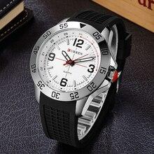 De Los nuevos Hombres de Moda Los Hombres de Silicona Relojes Moda Y Casual Reloj de Cuarzo Reloj de Pulsera Para hombres Relogio