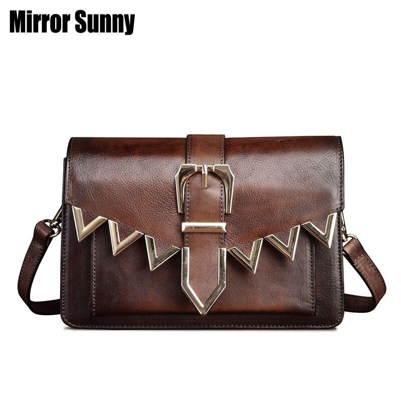 Marque de luxe en cuir véritable femme sacs à main Designer femme épaule bandoulière sacs Nature peau cuir petit sac Messenger