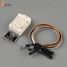 DHT22 AM2302 Digital Temperature Humidity Sensor Chip For Arduino Electronic Brick with 3 Free Cables