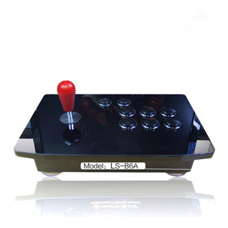 BS-B8B Fighting Stick Super Street Fighter Joystick,joypad computer game controller USB Interface handle Gamepads Zero Delay