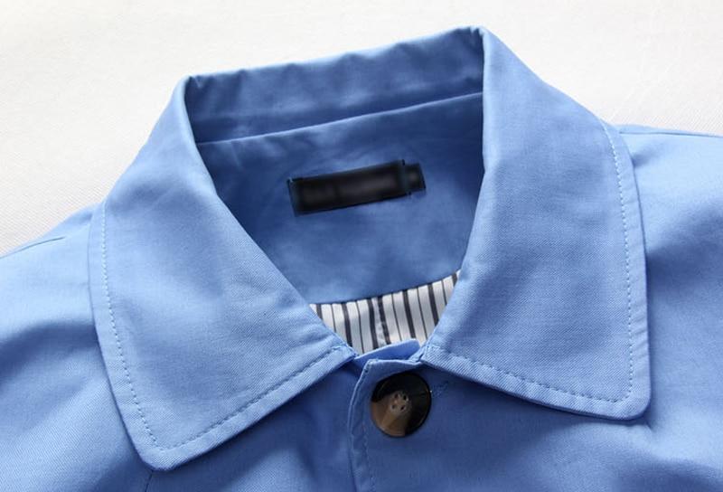 pu Haute Automne Manteau Ciel 2017 Jeune Blue Revers Qualité Tranchée Et Navy Coréenne Printemps Paragraphe Arrivl Nouveau Long Mince X44wqHT