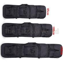 Открытый военный рюкзак 85 95 120 см для винтовки, охотничий рюкзак, тактический страйкбол, нейлоновый квадратный чехол для переноски двойной винтовки, мягкая сумка, защитный чехол для оружия