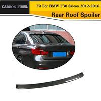 자동차 스타일링 탄소 섬유 자동차 지붕 윙 스포일러 BMW 3 시리즈 F30 12-16