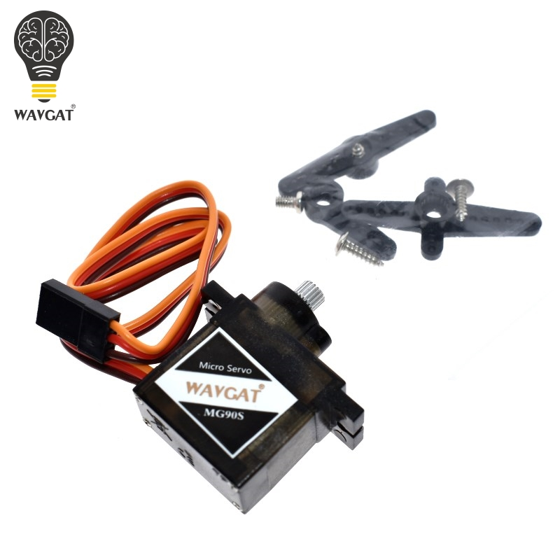 WAVGAT MG90S Metal Geared Micro Servo For Toy Boat Car Airplane Helicopter Micro Metal Gear