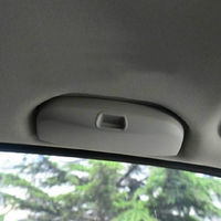 Autos Parts Car Accessories Sun Visor Sunglass Eye Glasses Holder Box Case