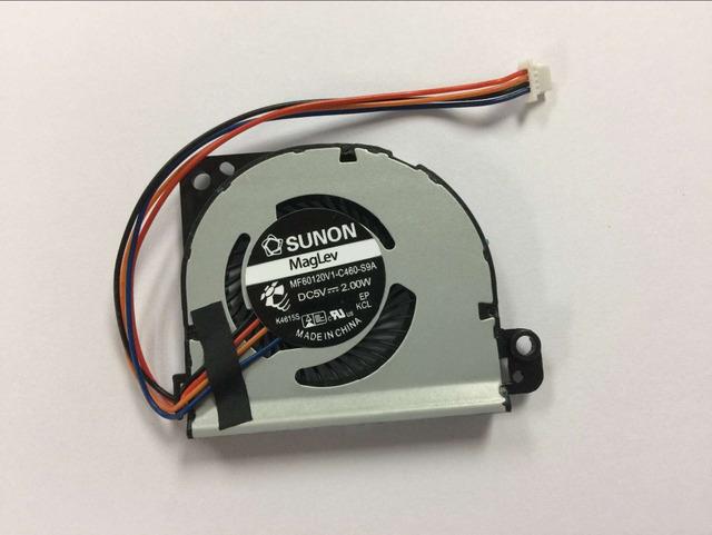 Nova fan cpu do portátil para toshiba portege z830 z835 z930 z935 laptop ventilador de refrigeração da cpu mf60120v1-c460-s9a