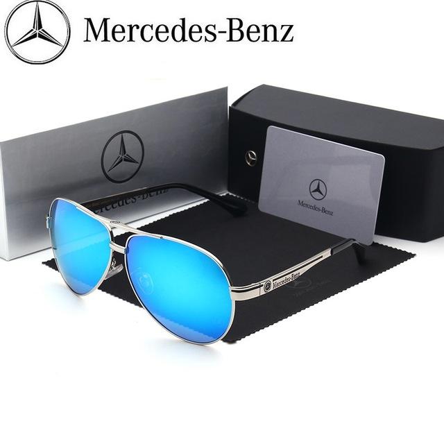 Marca Benz Polarizada Óculos De Sol Dos Homens Óculos de Sol Óculos de Sol de Design Da Marca Óculos Polarizados Condução Pesca Óculos de Proteção Eyewear Clássico SD9102