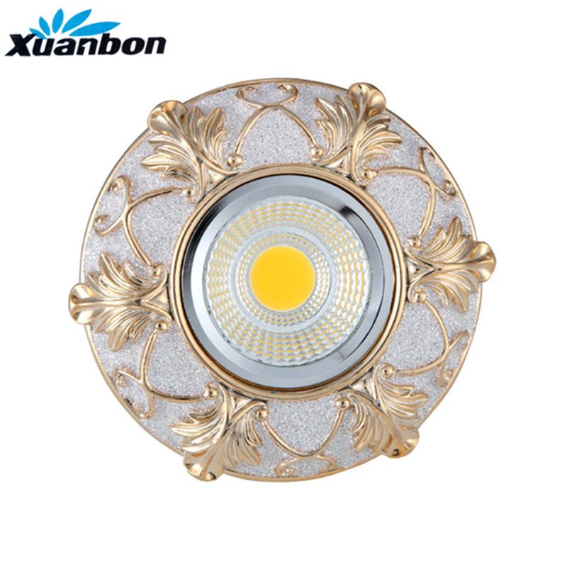 New AC110V 220V 7W 5W 3W LED Spotlight Decoration Ceiling Down Lamp Lighting Supre Bright Recessed LED Downlights