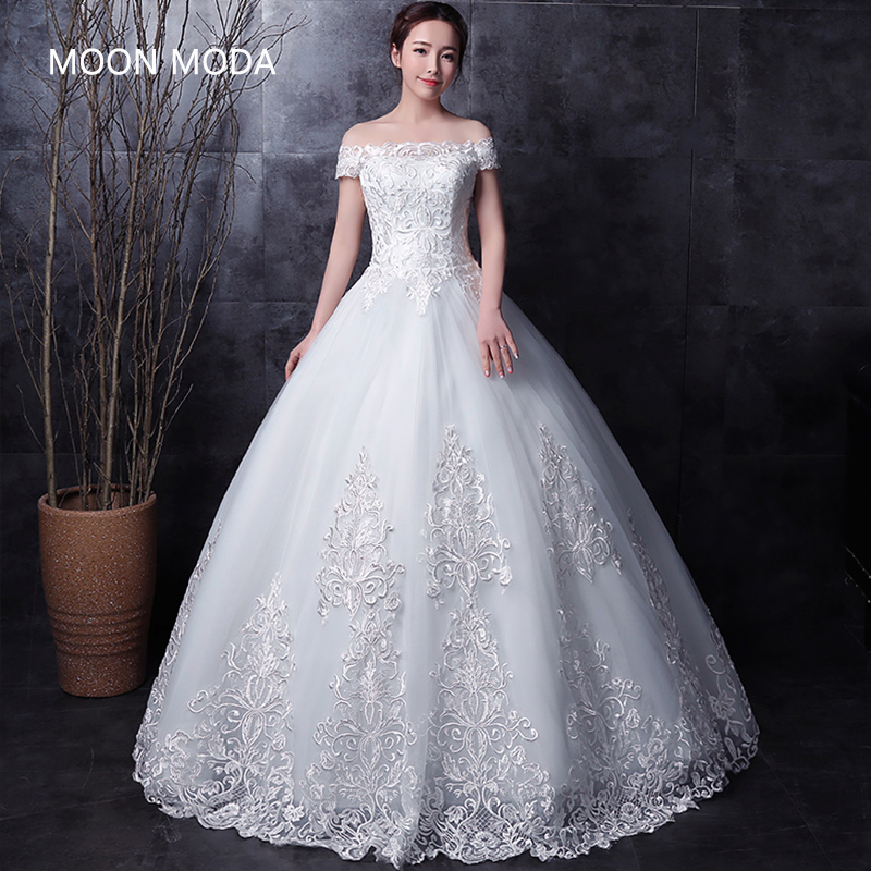Long Half Sleeve Muslim Lace Wedding Dress High Quality 2019 Bride Simple Bridal Gown Real Photo Weddingdress Vestido De Noiva