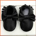 2016 New hot baby shoes baby leather bow moccasins colorful genuine cow leather newborn moccasins 0-24month dropshipping