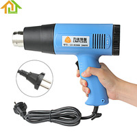 EU Plug AC220V 2000W Temperature AdjustableIndustrial Electric Heat Gun Handheld Hotair Gun