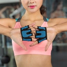 Weightlifting Gloves Breathable Half Finger Hand Sports Fitness Exercise
