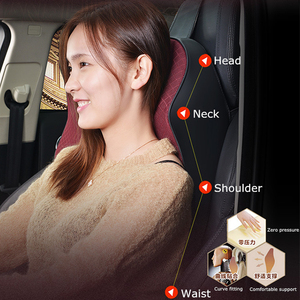 Image 4 - 1PCS memory foam cute car seat headrest pillow solid for the neck rest waist back support cushion set pillows auto accessories