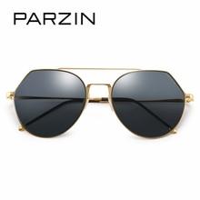 PARZIN Brand 2017 New Style Nylon Polarized Sunglasses Classic Alloy Frame Pilot Glasses For Driving Sun Glasses Accessories