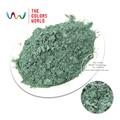 TCZG436 Pizarra Oscura de Color Verde Nacarado pigmento brillo nacarado de Mica En Polvo de Maquillaje DIY Diseño de Uñas Esmalte de Uñas