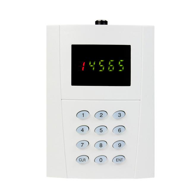 Tipo de Teclado sem fio Chamada Pager Botão do Transmissor para Equipamentos de Cozinha Do Hotel Sistema de Chamada de Paginação Restaurantes F3269D