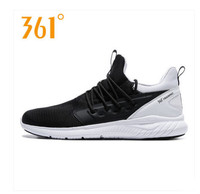 361 sports shoes men's shoes 2018 summer new breathable mesh 361 degrees genuine wear resistant lightweight running shoes