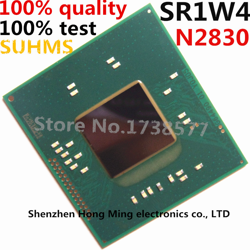 100% Test Very Good Product N2830 SR1W4 Cpu Bga Chip Reball With Balls IC Chips