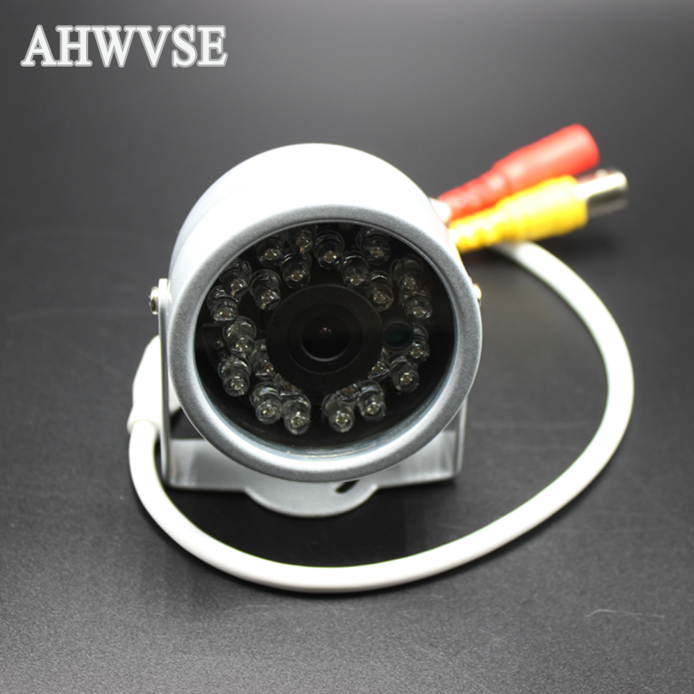 AHWVSE 900TVL 1200TVL Camera Home Security Surveillance CCTV System Outdoor Waterproof IR-Cut Night Vision 24 Led Cam