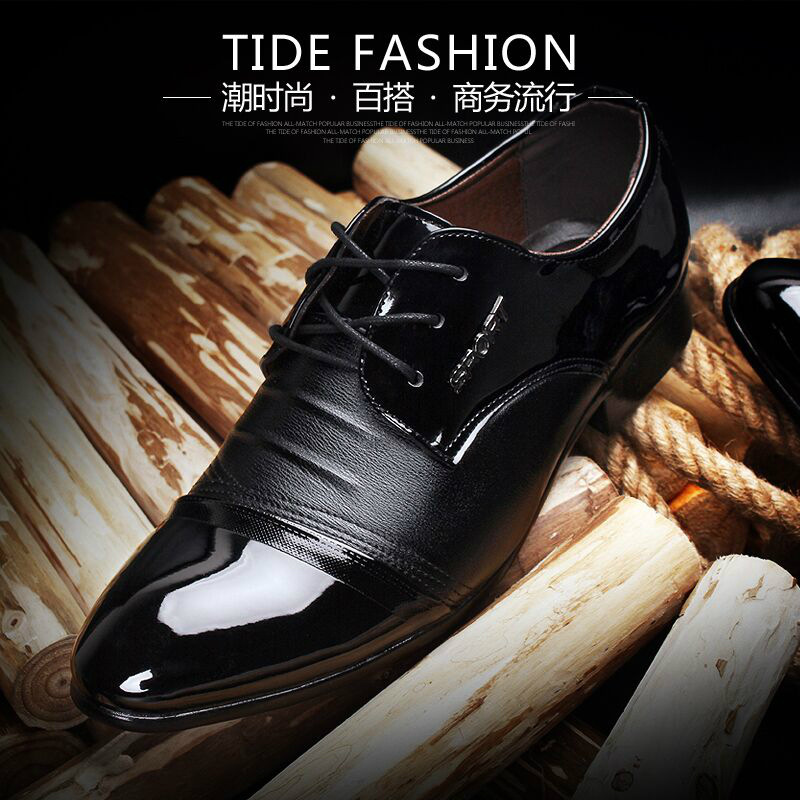2018 New Fashion Style Designer Formal Mens Dress Shoes Genuine Leather Luxury Wedding Shoes Men Flats Office Shoes Lc8166 100% Guarantee Shoes Formal Shoes