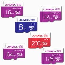 Londisk cartão micro sd 32 gb class10 8 gb/16 gb/64 gb/128 gb uhs-1 200 gb uhs-3 cartão tf cartão de memória flash para a câmera do smartphone pad