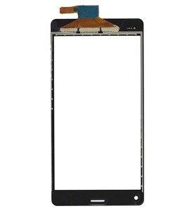 Image 3 - 4.6 מגע עבור Sony Xperia Z3 Z3 מיני קומפקטי D5803 D5833 חיישן עדשת חזית זכוכית פנל Digitizer מסך מגע