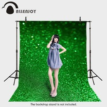 Background photography vinyl backdrop Green Christmas blur of light for a photo shoot photographic camera