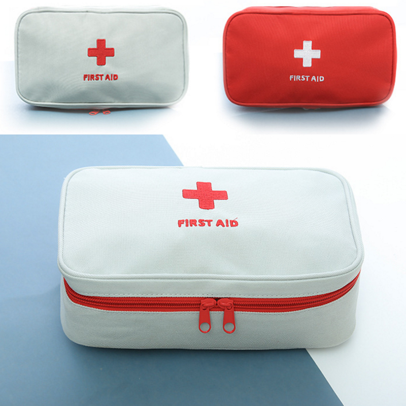 Giantree Emergency Medical Bag First Aid Kit Rescue Bag Canvas Empty Camping First Aid Travel Treatment Pack Free Shipping
