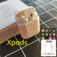 Xpods TWS Bluetooth Earbuds Wireless PK w1 chip i30 LK TE9 LK TE9 Earphone 1:1 size PK i10 i20 i10tws i13 i14 i15 i16 tws