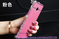 FOR Samsung Galaxy S3 I9300 Case Pearl Crystal Diamond Bling Case Luxury Metal Bumper Back Cover