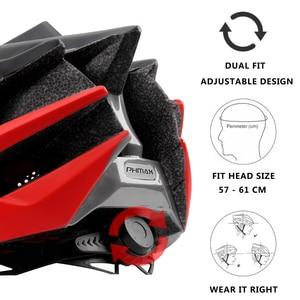Image 3 - PHMAX 2020 Bicycle Cycling Helmet Ultralight EPS+PC Cover MTB Road Bike Helmet Integrally mold Cycling Helmet Cycling Safely Cap