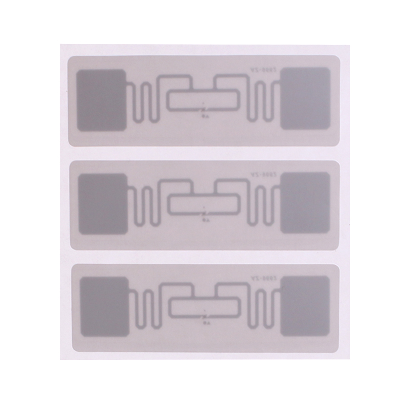 2500pcs 75*25mm uhf rfid Alien H3 paper sticker used for warehouse management and library management 500pcs rfid one off coated paper wristbands tag epc gen2 support alien h3 chip used for personnal management