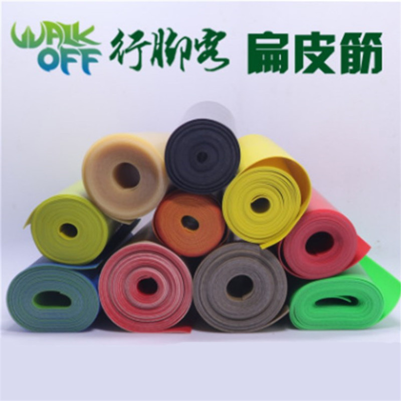 Slingshot Flat Rubber Band Thickness Multicolor Catapult Natural Latex Flat Elastic Elasticity For Hunting