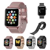 Milanese Loop Wrist Band For Apple Watch 3 2 1 42mm 38mm Luxury Link Bracelet Strap