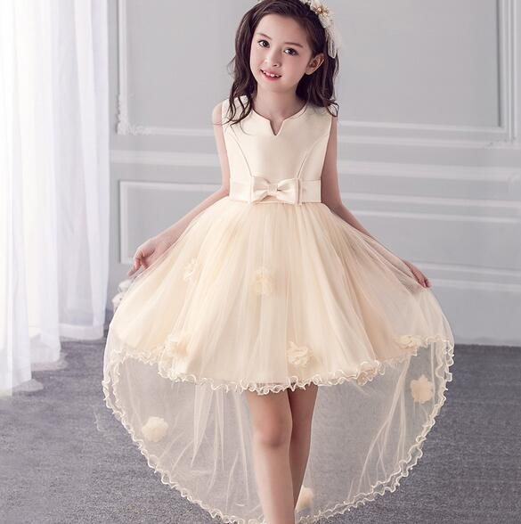 4 11Y Teenager Vestido Flower Girl Dresses Sleeveless Organza Floral Dresses Princess Bridesmaid Wedding Birthday Party Dress|girls dress|birthday party dress|dress princess - title=