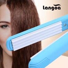 Портативные пушистые маленькие волнистые гофрированные щипцы для завивки волос, электрический выпрямитель для волос, щипцы для завивки волос, щипцы для завивки, инструменты для укладки
