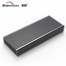 Blueendless NVME M.2 ssd Чехлы портом type-c высокая скорость передачи данных жесткого диска рассеивания тепла черный алюминиевый ssd
