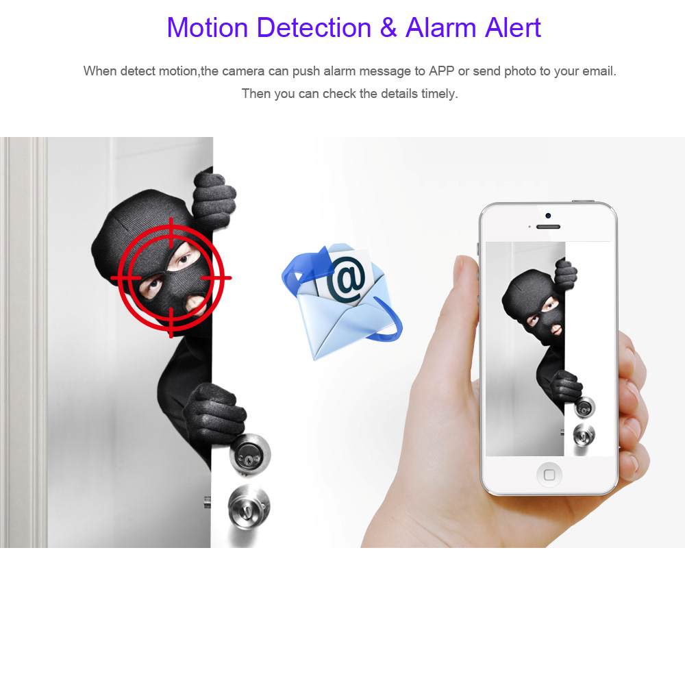 Image 4 - GADINAN HD 1080P 720P Wireless IP Camera P2P RTSP Motion Detected Waterproof WiFi Camera Bullet with 64G SD Card Slot iCSee-in Surveillance Cameras from Security & Protection