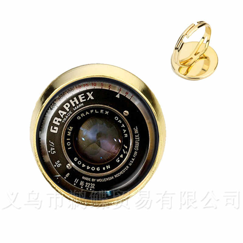 Линзы для однообьективной цифровой зеркальной фотокамеры художественные кольца для картинок держать этот момент навсегда объектив камеры серебро/Golder покрытием 2 цвета регулируемые кольца