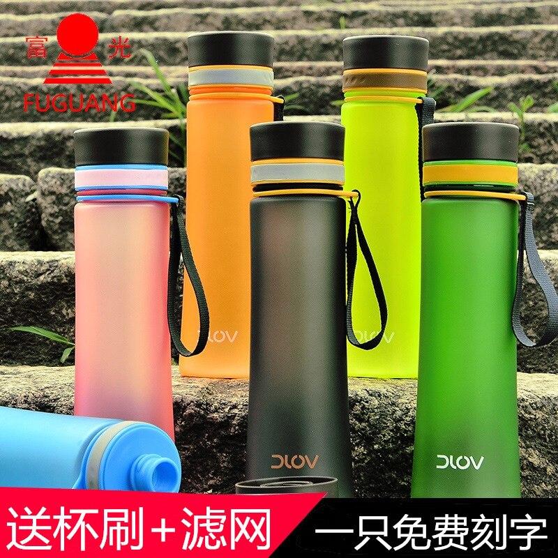 Water Bottle For Office: FGA Large Capacity Colorful Plastic Portable Bottle Men