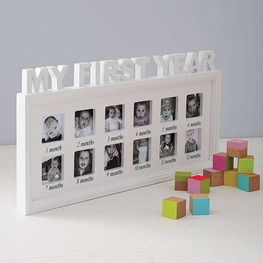 One Year Photo Frames 65000 Personalized Photo Frames