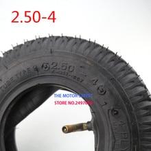 """2,50-4 шины и внутренняя труба 2,50-"""" для ручной тележки/тележка газа и электрический скутер велосипед газа скутер мотоцикл"""
