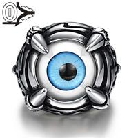 R235 A Unique Star Celebrity Movie Magic Ring Men Styles 316L Stainless Steel Finger Rings Black