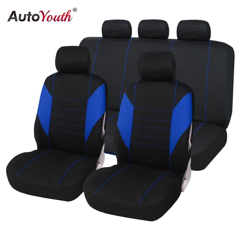 Fundas para asiento de coche AUTOYOUTH Protector de asiento de coche accesorios interiores para toyota corolla verso renault escénico 3