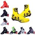 Велосипедная Пыленепроницаемая велосипедная обувь для мужчин и женщин MTB велосипедная обувь покрытие/спортивная обувь аксессуары для верх...
