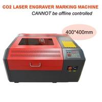 CO2 Laser Engraver 40W 50W USB Port Logo Sign Marking Engraving Machine 400 400mm Desktop Cutting