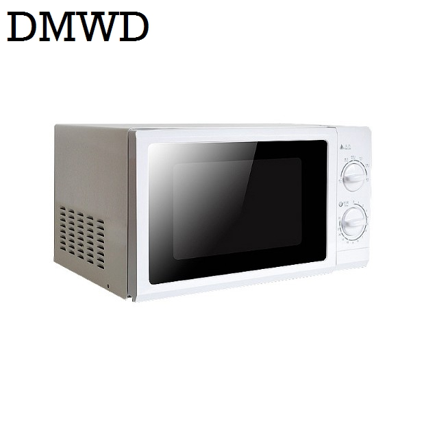 DMWD 700W Household Microwave Oven Mini multifunctional Mechanical Timer Control Microwave Oven 20L with 30 minutes timer EU US egg shaped stainless steel mechanical twist timer 60 minutes