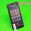 Разблокирована Оригинальный Sony Ericsson Xperia ray ST18i Мобильный Телефон GPS WI-FI 8MP Android Смартфон Восстановленное
