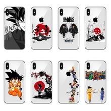 Dragon Ball Z Super DBZ Goku DBS Fashion Coque Hard PC Case Cover shell For Apple iPhone 5 5s Se 6 6s 7 8 Plus X XR XS MAX