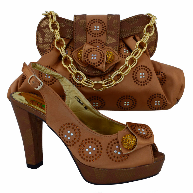 ФОТО Fashion Shoes and Bag Set African Set Nigerian Party Shoes and Bag Set High Quality Matching Italian Shoes and Bag Set